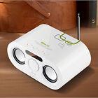 LCD Remote Control USB SD FM Radio MP3 Boombox Stereo Sound Speaker