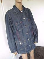 Ulla Popken sehr schöne Jeans Jacke 46/48 blau