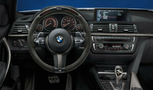 Original BMW M Performance Volante II Alcantara Carbono Race-Display 32302230189