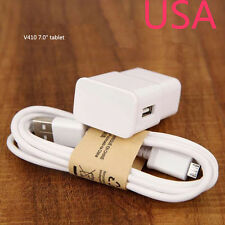 "AC/DC Wall Power Charger Power Adapter Cord For LG G Pad V410 7.0"" tablet White"