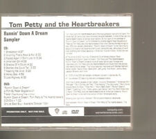 "Tom Petty and the Heartbreakers ""Runnin 'down a Dream Sampler"" 2008 PROMO CD + DVD"