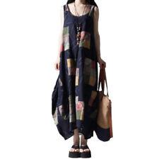 Unbranded Linen V-Neck Dresses for Women