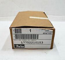 "New listing New Parker L7752210153 1/4"", 2-Position Single Solenoid Valve"