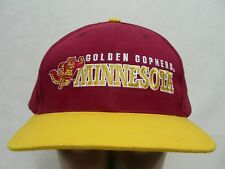 MINNESOTA GOLDEN GOPHERS - NCAA/FBS/BIG 10 - ADJUSTABLE BALL CAP HAT!
