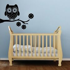Baby's Room Baby Owl Decal-Great for walls of your home and as baby shower gift