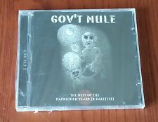 GOV'T MULE-THE BEST OF THE CAPRICORN YEARS (& RARITIES)-2 CD SIGILLATO(SEALED)