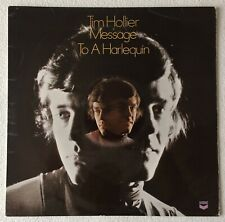 TIM HOLLIER ~ MESSAGE TO A HARLEQUIN ~ 1968 UK 11-TRACK MONO VINYL LP RECORD