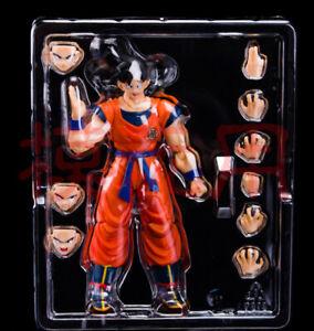 Anime Dragon-ball SHF Son Goku Action Figure Movable Model Toy No Box