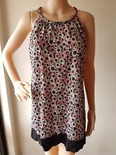 WISH Ladies Emilie Floral Sleeveless Dress Size: XS EUC