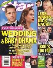 ANGELINA JOLIE & BRAD PITT Star Magazine January 16, 2006 1/16/06  C-3-3