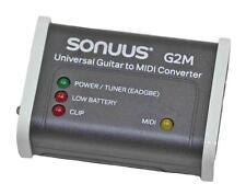 Sonuus G2M Universal Guitar to Midi Converter Excellent Condition