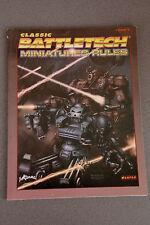 Classic Battletech Miniatures Rules Englisch von 2003 (Tabletop)