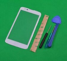 Front Outer Screen Lens Glass For LG K7 K330 Ms330 Ls670 Ls675 White