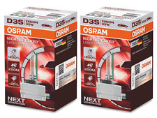 D3S - OSRAM HID Xenon Bulbs Night Breaker Laser (NBL) +200% (2 pack) BRAND NEW!
