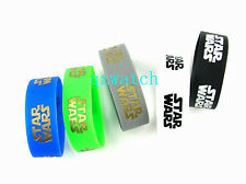 50 Pcs Star Wars Bracelets Wristband Silicone Bracelet Party gift Wholesale