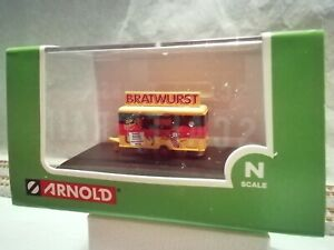 Arnold N Scale Bratwurst Food Trailer # HN7002
