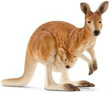 Schleich® Wild Life, 14756  Känguru, NEU mit Schleich® - Fähnchen