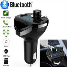 Bluetooth KFZ Auto FM Transmitter MP3 Player USB Stick SD AUX Freisprechanlage