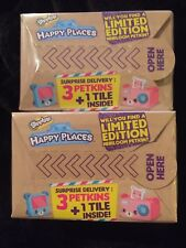 Lot of 2 Shopkins Happy Places Series 1 Blind Boxes