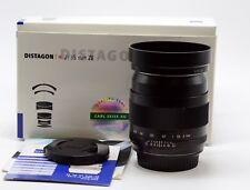 ZEISS DISTAGON T* 35mm F/2 ZE MANUAL FOCUS LENS FOR CANON EOS SLRs DSLRs