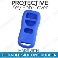 Remote Key Fob Cover Case Shell for 2002 2003 Infiniti QX4 Blue