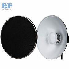 42cm Beauty Dish Bowens Mount Studio Flash Radar Reflector w/ Honeycomb Grid kit