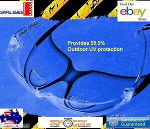 2x Safe-Eyes-Readers Glasses New Clear or Smoke bifocal safety glasses