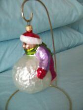 "Christopher Radko ""Having A Ball"" Christmas Ornament"
