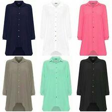 Unbranded Collar Shirt Size Plus Dresses for Women