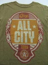 OBEY All City 1989 Big Brother Propaganda Brown SS T Shirt Size S