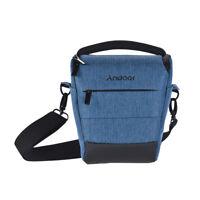 Andoer Portable DSLR Camera Shoulder Bag Sleek Polyester Camera Case for 1 G2E3