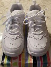 Stride Rite 6413454 Austin Lace Shoes Sneakers White Kids sz 13.5W