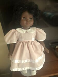 """Gotz  Rare African American 18"""" Doll Made In Germany 128/16 46CM. GOTZ 90"""
