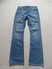 Levi's® 507 Bootcut Jeans Hose W 33 /L 36, TOP ! Light Washed Denim Extra Lang !