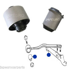 LEXUS LS400 UCF20 94-01 FRONT LOWER WISHBONE TRACK CONTROL ARM FRONT REAR BUSHES