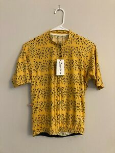 Lumiere Race Fit Jersey - Cycling - Mustard Yellow - Men's Size M Rapha MAAP