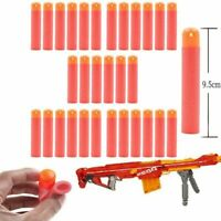 300x Gun Soft Foam Refill Bullets Darts Round Head Blaster - N-Strike