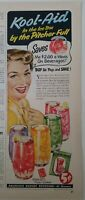 1952 Kool-Aid in the icebox by the pitcher full vintage ad