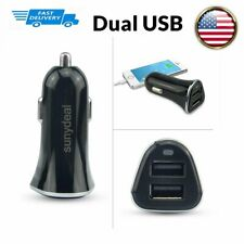 New listing Dual Usb Car Charger Adapter Fast Charging For iPhone Samsung Lg Android iPad