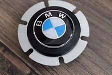 BMW Horn Button And BMW Badge Fits MOMO Steering Wheel Sport