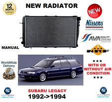 FOR SUBARU LEGACY RADIATOR 1992->1994  2000 TURBO MANUAL