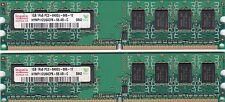 New listing 2Gb 2x1Gb Pc2-6400 Ddr2 Hynix Memory Kit Fits Dell Inspiron 518 519 530 531