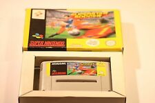 Super Nintendo, Snes-International Superstar Soccer por Konami en Caja