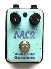 Guyatone MC2, Micro Series, Chorus, Made In Japan, 1980's, Vintage Guitar Effect