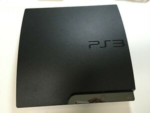 Sony PlayStation 3 Slim Launch Edition 160GB Charcoal Black Console (CECH-2500A)