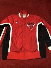 Chicago Bulls 92-93 Mitchell & Ness Warmup Jacket Size 40 M Jordan Last Dance