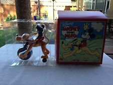 "New in Box!!!!! Disney "" Mickey Riding Pluto"" wind-up-toy. 2000"
