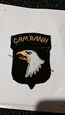 patch armee us 101th AIRBORNE DIVISION CAMRANH VIETNAM original