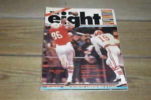 Vintage 1977 The Big 8 Magazine Volume 6 Number 1 Tom Osborne Spaeth Plus+++