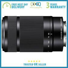*Excellent* Sony 55-210mm f/4.5-6.3 OSS E-Mount Lens Black SEL55210 - 3yr Wrty